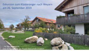 Klosteranger Weyarn